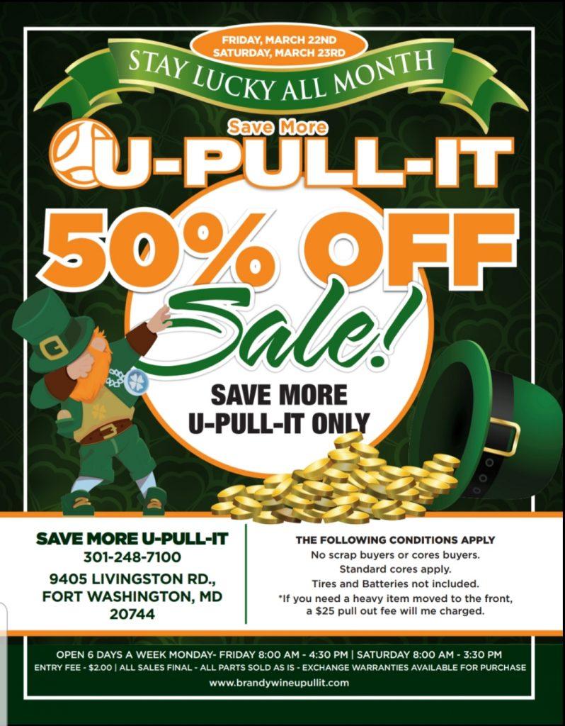 U Pull U Save >> Brandywine U Pull It Brandywine U Pull It Your Source For